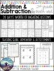 Addition and Subtraction to 1000 - Unit Plan & Assess.