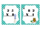Double digit Multiplication I Spy- Spring Version
