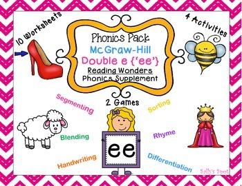 Double e Phonics Pack