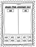Double final consonant sort