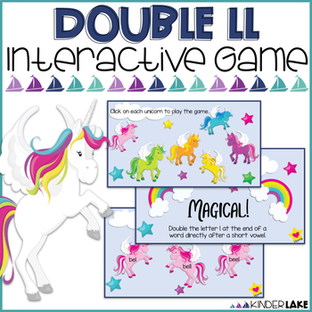 Final Double Letters: ll Interactive Game