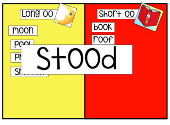Double o: Long oo & Short oo Interactive Powerpoint Activity