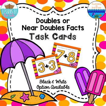 Doubles or Near Doubles Task Cards