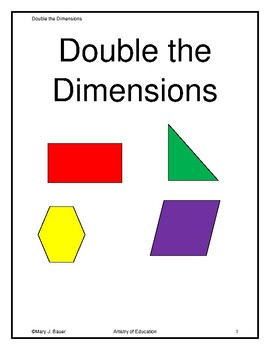 Double the Dimensions