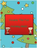Double the Fun Holiday Math (supports Common Core, learnin
