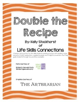 Double the Recipe