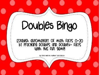 Doubles +/- 1 Bingo