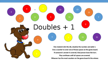 Doubles + 1 Puppy Cover or Bump Game