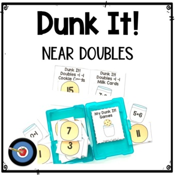 Doubles +1 and -1 Facts 0-20 Dunk It! Game