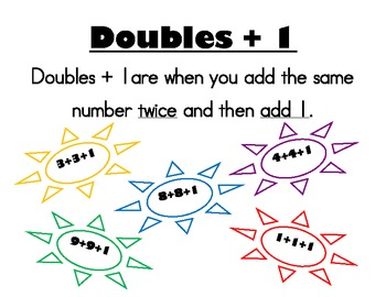 """""""Doubles +1 and +5 Bubbles"""" Game"""