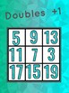 Doubles +1 bingo, maths, addition