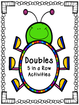 Doubles 5 in a Row Activities