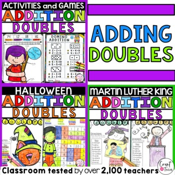 Doubles Addition Fact Families Bundle