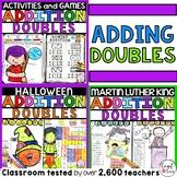 Doubles Addition Fact Families Bundle