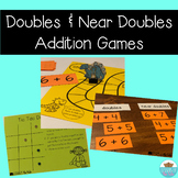 Doubles Addition Facts Center Games