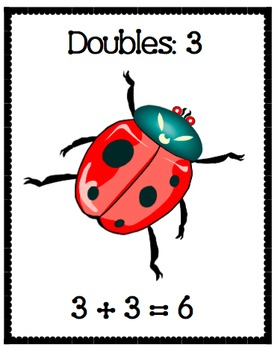 Doubles Addition Facts Posters! 1-10!