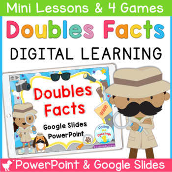 Doubles Fact Smartboard and Powerpoint