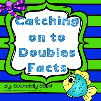 Doubles Addition Facts with a fish theme
