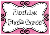 Doubles - Addition Flash Cards