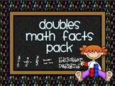 Doubles Addition Math Facts Pack