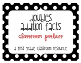 Doubles Addition Math Posters