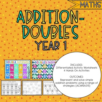 Doubles Addition - Prep and Year 1