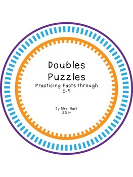 Doubles Addition Puzzles