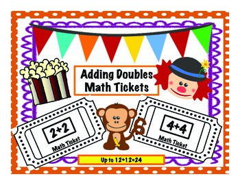 Doubles Addition Tickets: Up to 12+12