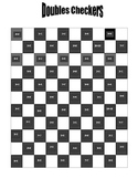 Doubles Addition and Subtraction Checkers Game
