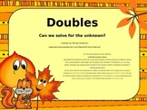 Doubles- An Instructional Lesson for Projector