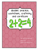 Doubles!  An activity and craftivity freebie