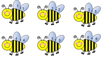 Doubles Bee Match Game