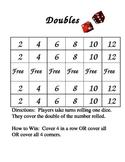 Doubles Bingo Cards