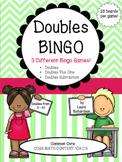 Doubles Bingo Pack: Doubles, Doubles Plus One, & Subtraction Doubles