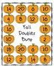 Addition Doubles Bump Math Game Bundle