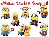 Doubles Bump-it Game Minion Style!  Math Games  Math Centers