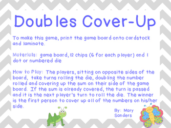 Doubles Cover-Up