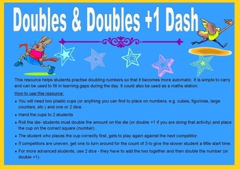Doubles Dash and Doubles +1 Dash