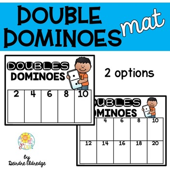 Doubles Dominoes Mat