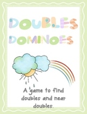 Doubles Dominoes - a doubling game
