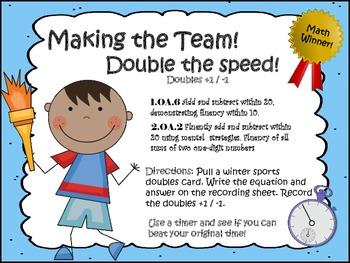 Doubles & Doubles +1 / -1 Games!!