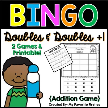 Doubles & Doubles +1 BINGO {Addition Facts}