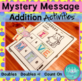 Doubles, Doubles +1, Count on by 1 Addition Activity - Mys