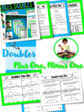 Doubles Facts, Doubles Plus One, Doubles Minus One Facts, Doubles Foldable