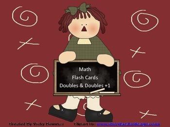 Doubles, Doubles +1 Flash Cards
