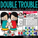 Doubles, Doubles +1, and Doubles +2 Games and Practice Pages