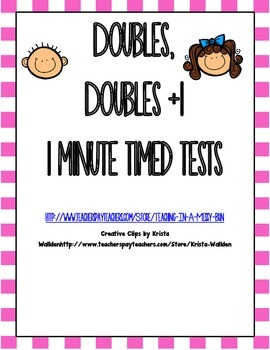 Doubles, Doubles +1 timed fact test