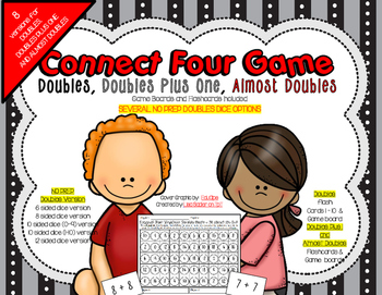 Doubles-Doubles Plus One-Almost Doubles Connect Four in a