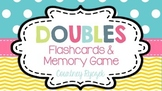 Doubles & Doubles Plus One Flashcards and Memory Game