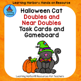 Doubles, Doubles Plus One, and Doubles Minus One Friendly Halloween Cat Theme